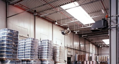 Świetliki dachowe - naświetla przemysłowe