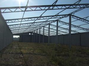 konstrukcja dachu pod płyty