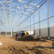konstrukcja stalowa pod hale