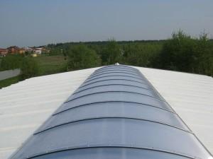 świetlik dachowy - łukowy