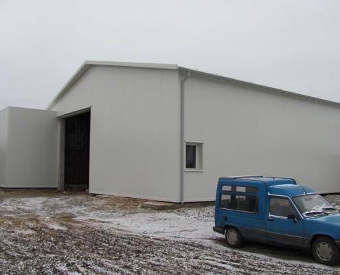 hala magazynow garażowa Chojnów