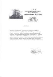 Skrzypczyński - Referencje na montaż i dostawę płyt