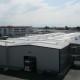 dach hali z płyt warstwowych