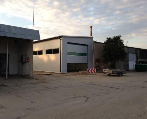 stacja kontroli Mosina z płyt obornickich