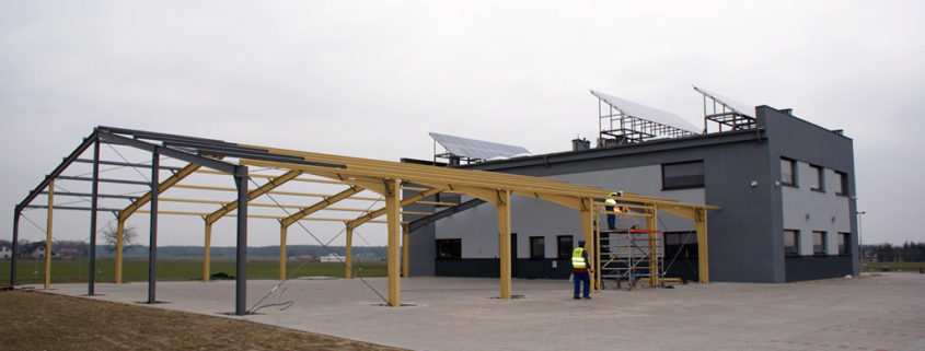 koszt wybudowania hali z płyty warstwowej o powierzchni 200m2