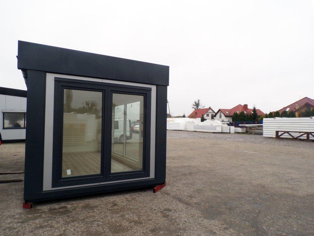 Pawilon usługowo-handlowy 6x3m