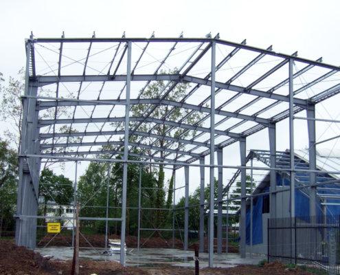 Konstrukcje stalowe hali
