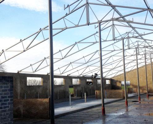 Konstrukcje stalowe hal