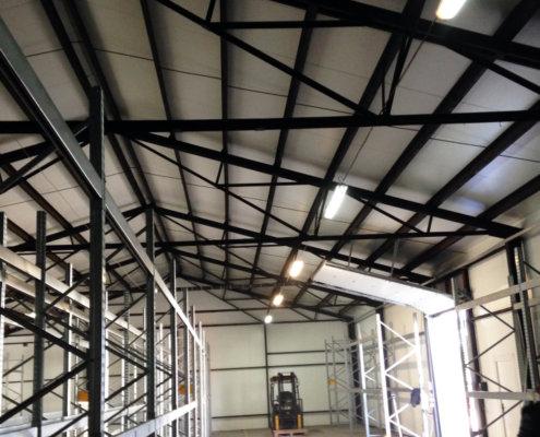 Konstrukcje stalowe hale