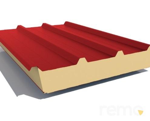 Płyty warstwowe dachowe PIR